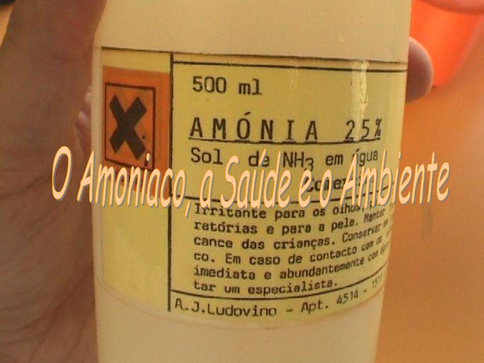 O Amoniaco, a Saúde e o Ambiente