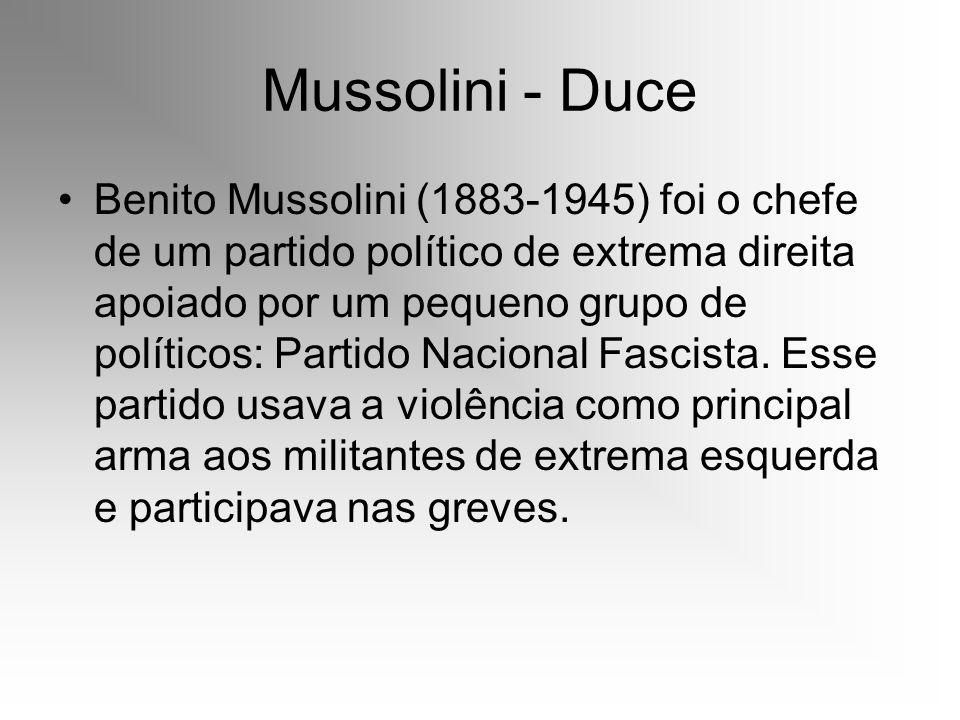 Mussolini - Duce