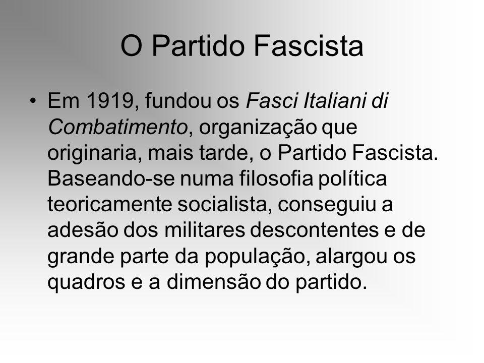 O Partido Fascista
