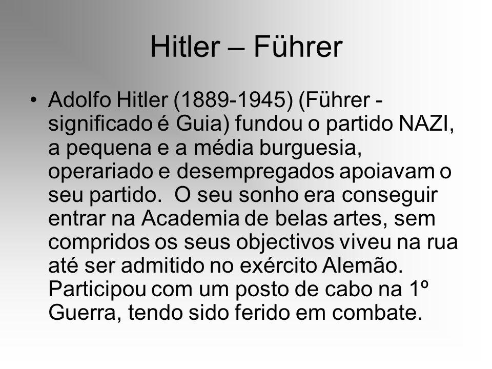 Hitler – Führer