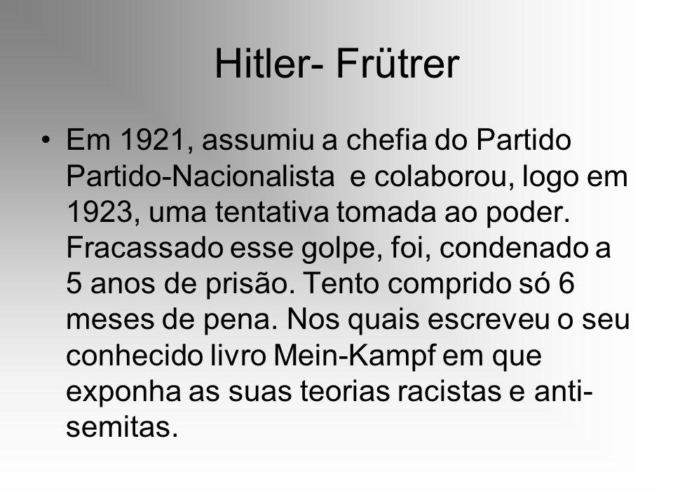 Hitler- Frütrer