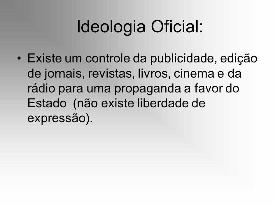 Ideologia Oficial: