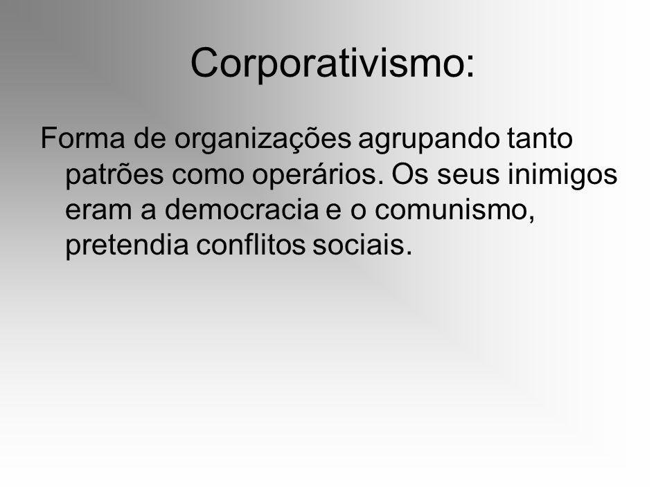 Corporativismo: