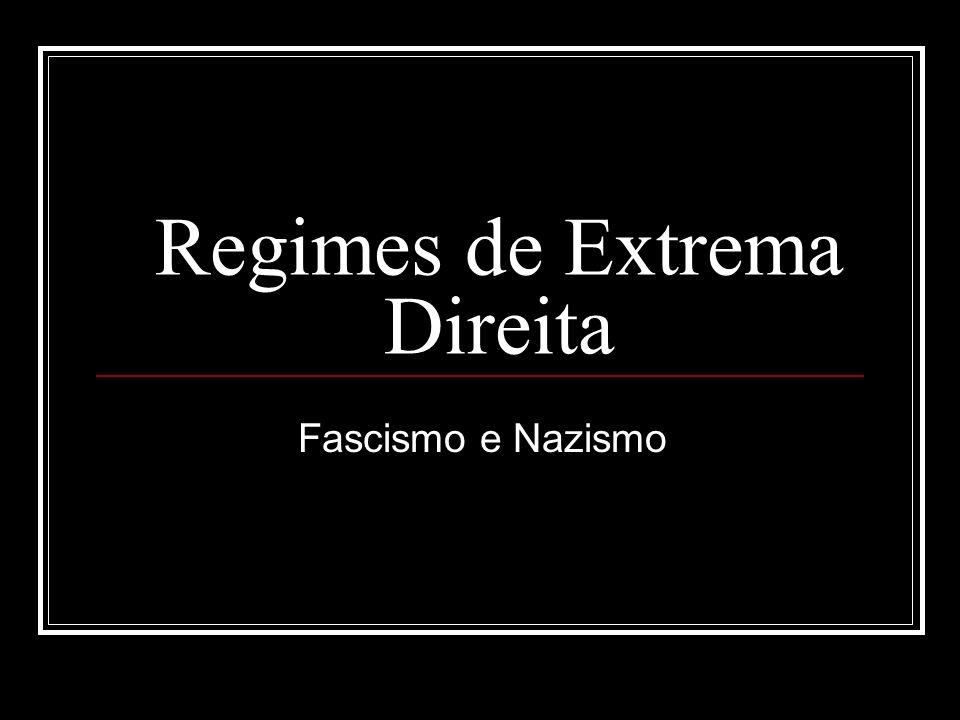 Regimes de Extrema Direita