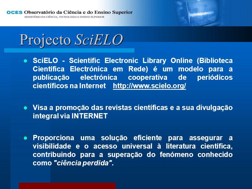 Projecto SciELO