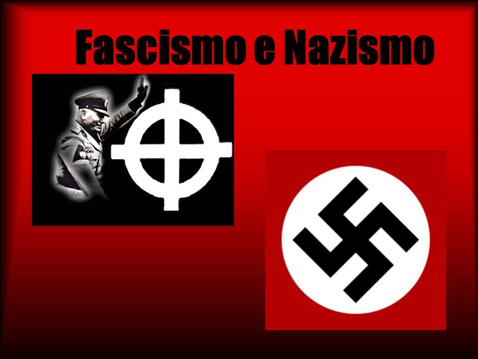 Fascismo e Nazismo Está um bom trabalho, referindo os aspectos da subida ao poder da extrema direita na Europa.