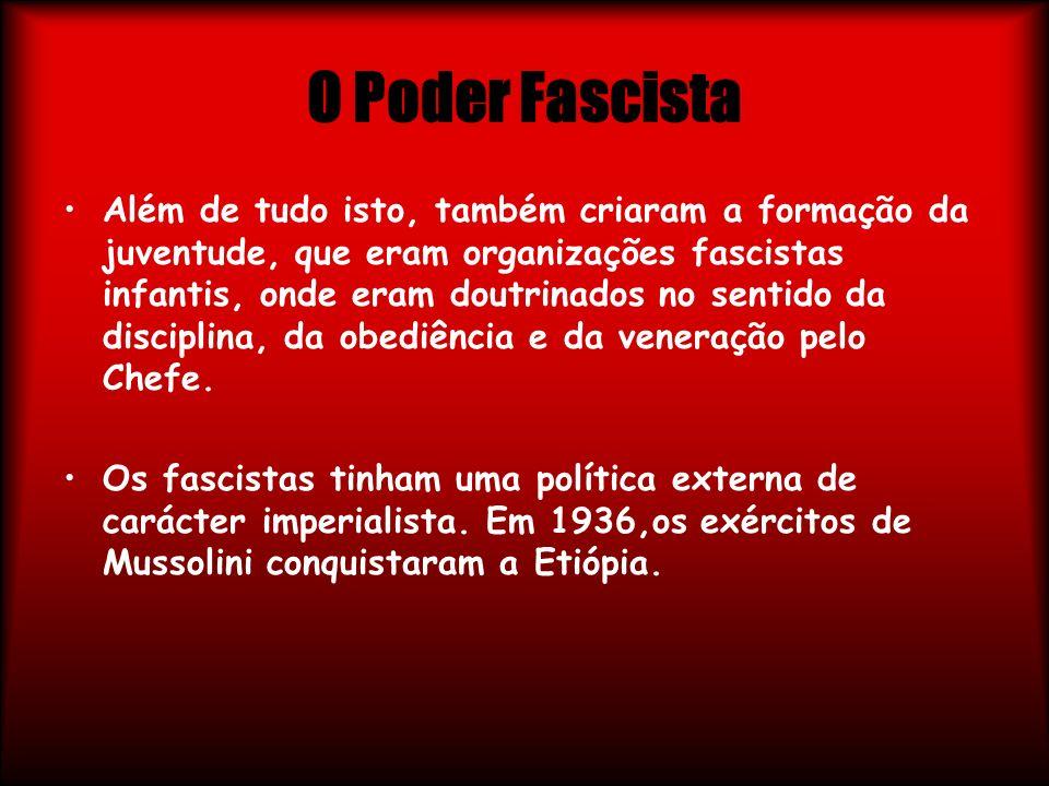 O Poder Fascista