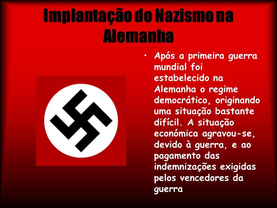 Implantação do Nazismo na Alemanha