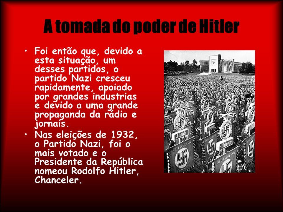 A tomada do poder de Hitler