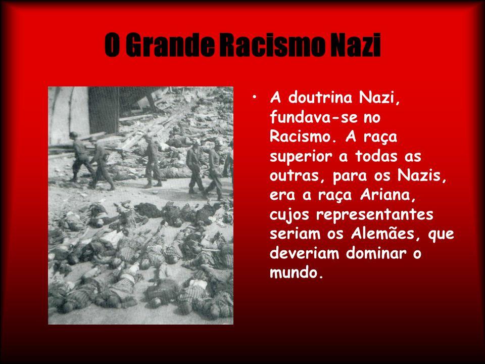 O Grande Racismo Nazi