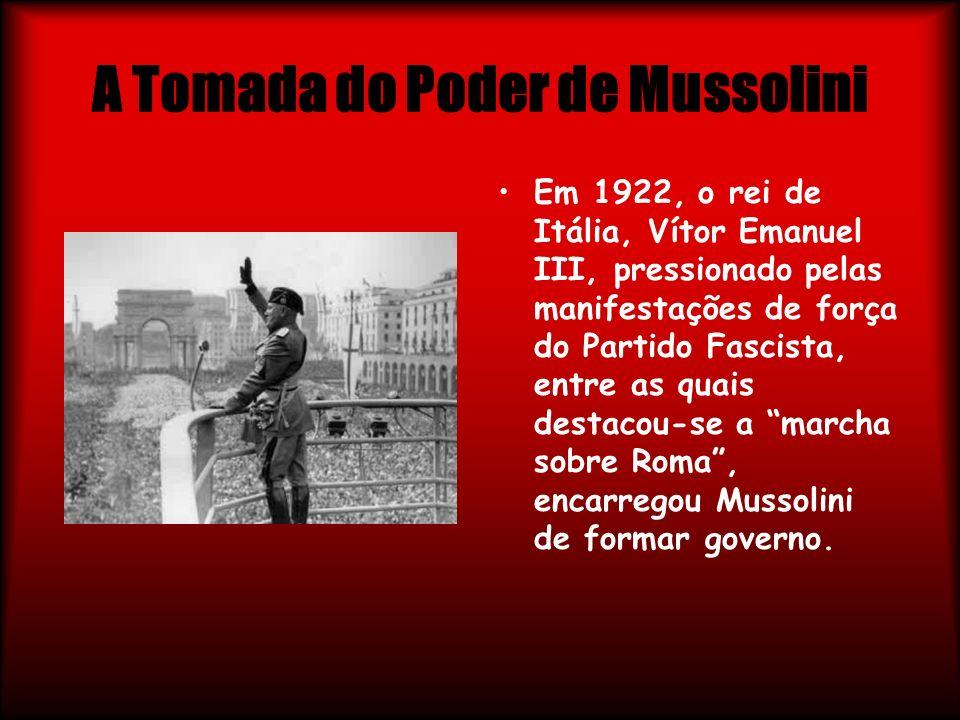 A Tomada do Poder de Mussolini