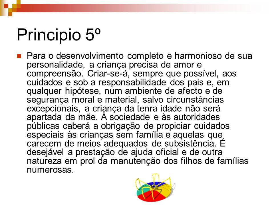 Principio 5º