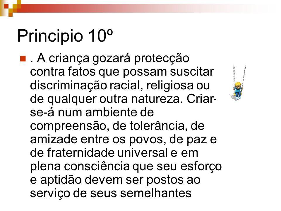 Principio 10º
