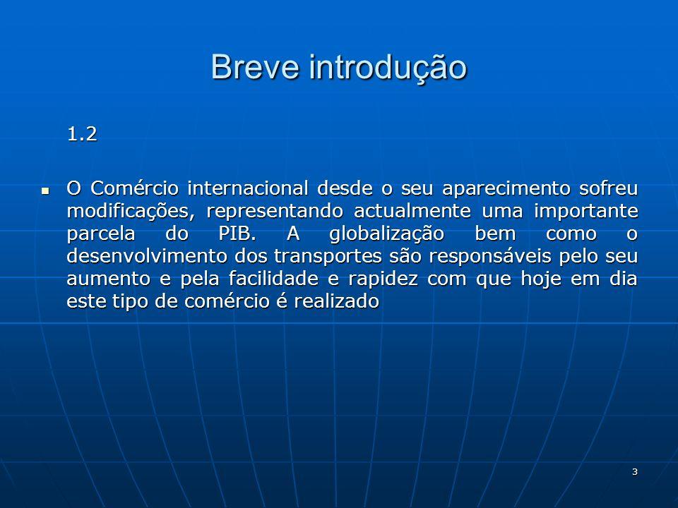 Breve introdução 1.2.