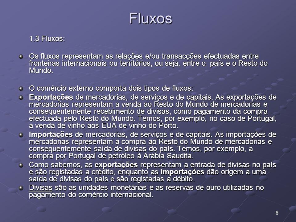 Fluxos 1.3 Fluxos: