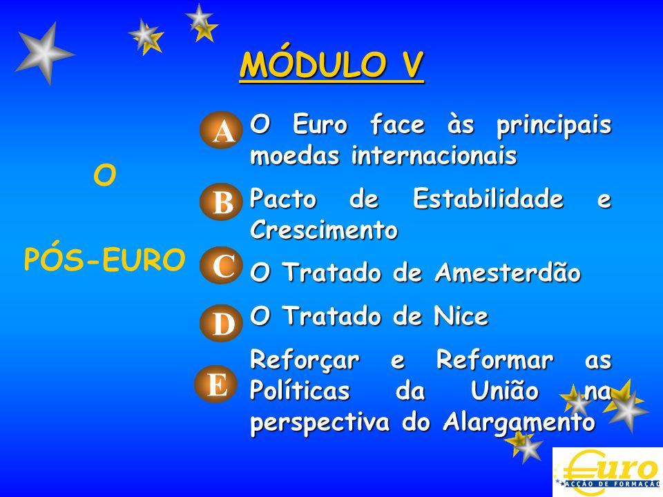 MÓDULO V A B C D E O PÓS-EURO