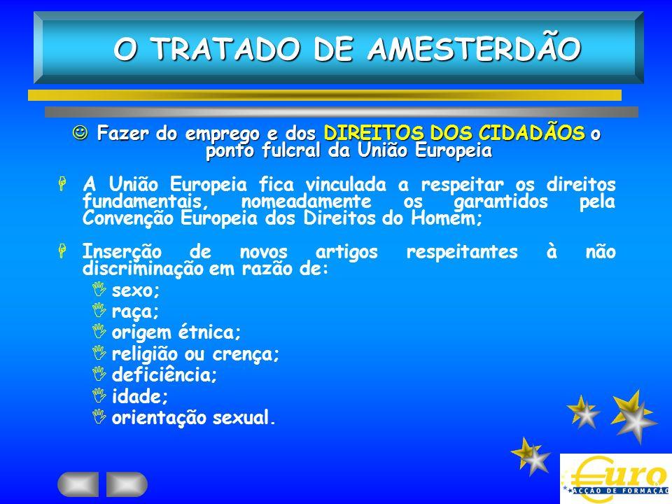 O TRATADO DE AMESTERDÃO
