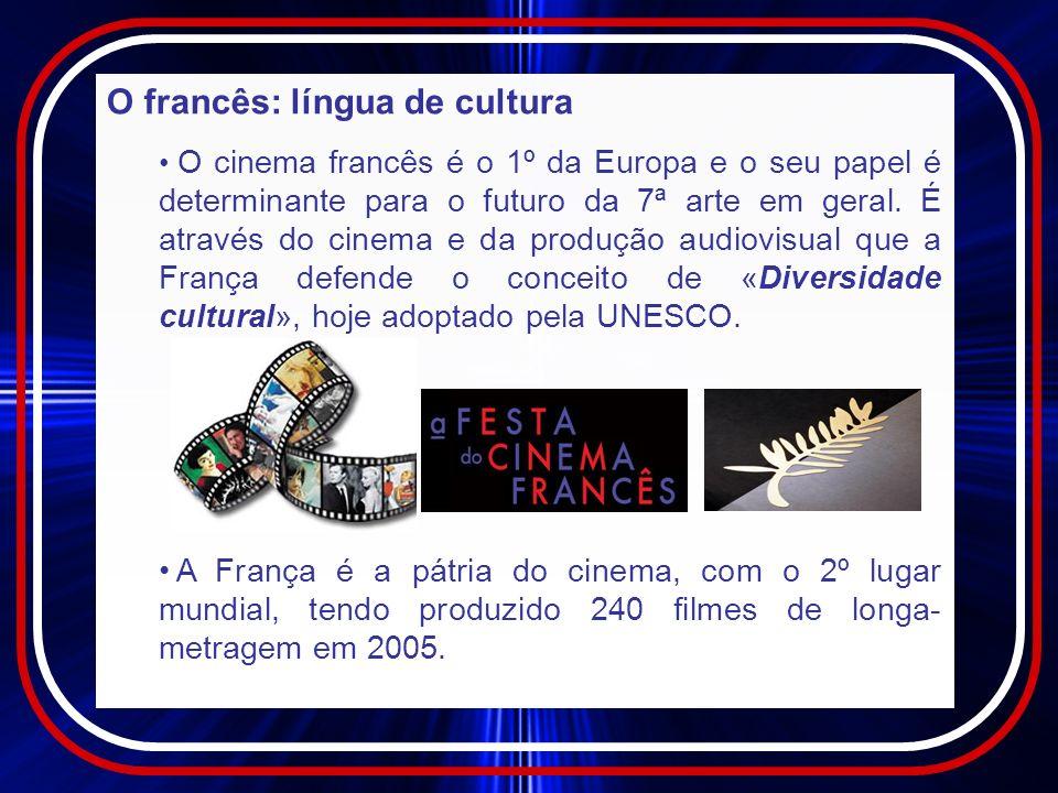 O francês: língua de cultura