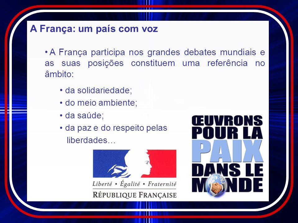A França: um país com voz