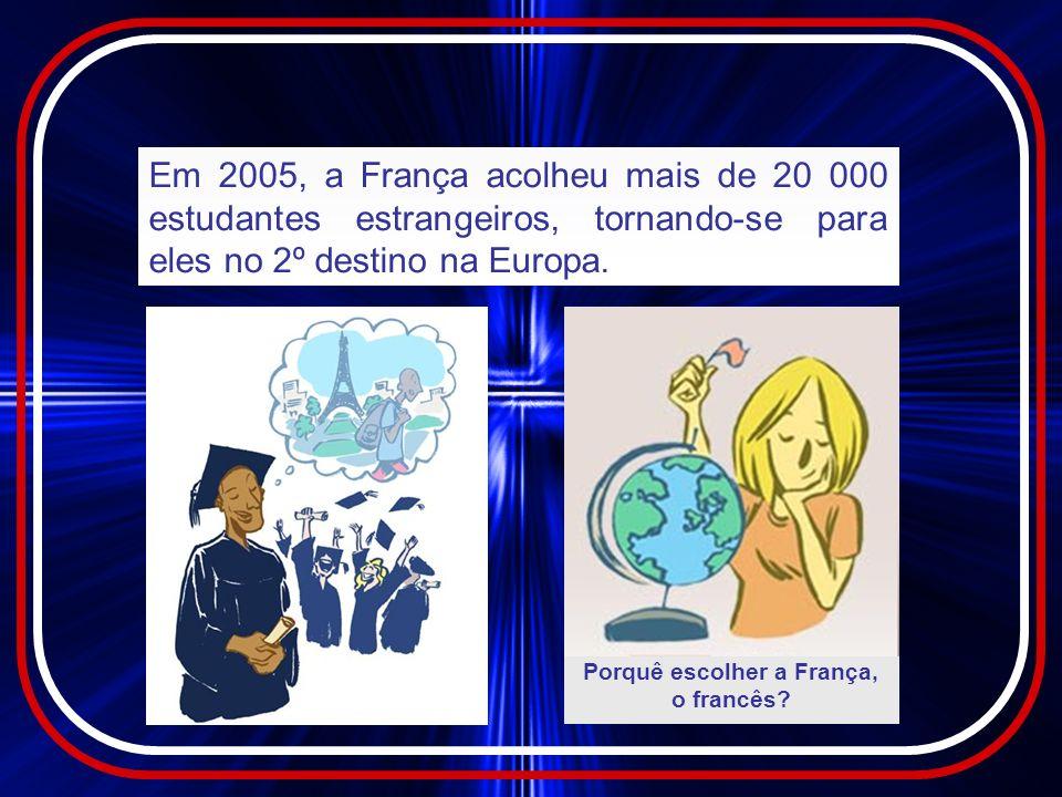 Porquê escolher a França, o francês