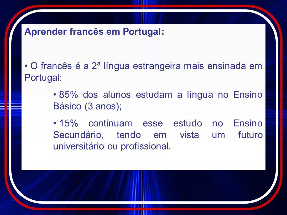 Aprender francês em Portugal: