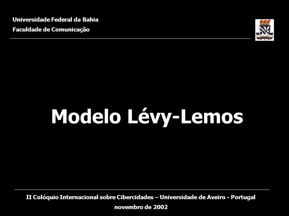 Modelo Lévy-Lemos Universidade Federal da Bahia