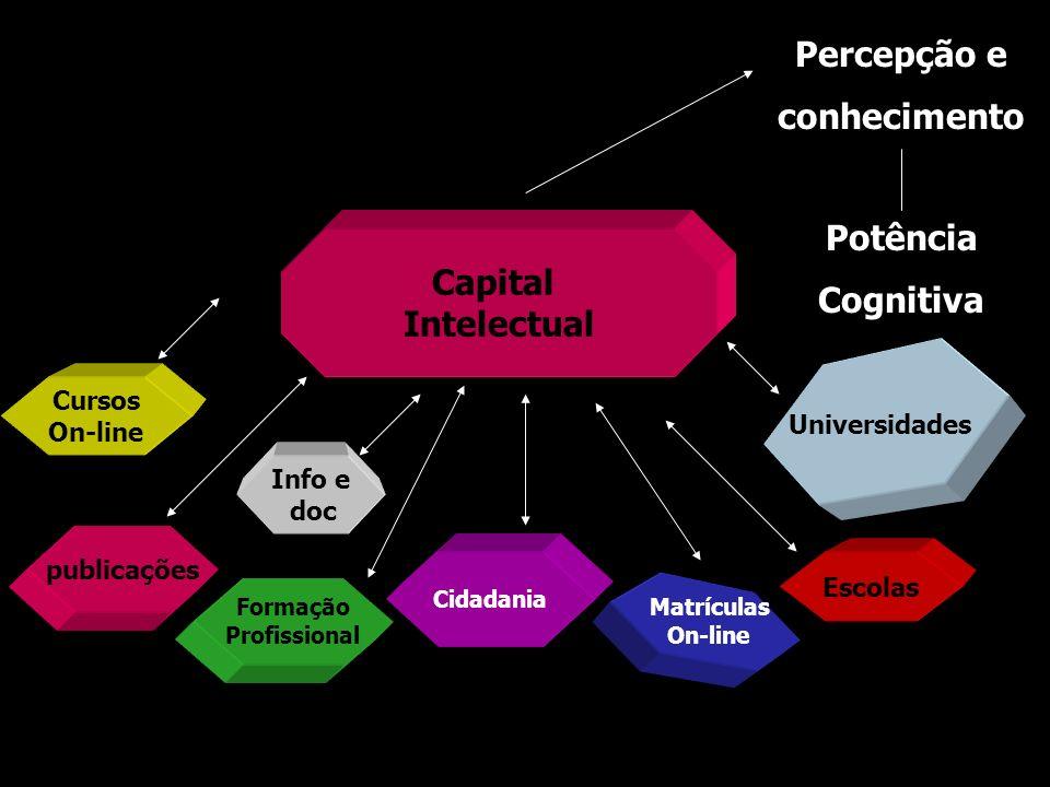 Percepção e conhecimento Potência Cognitiva Capital Intelectual