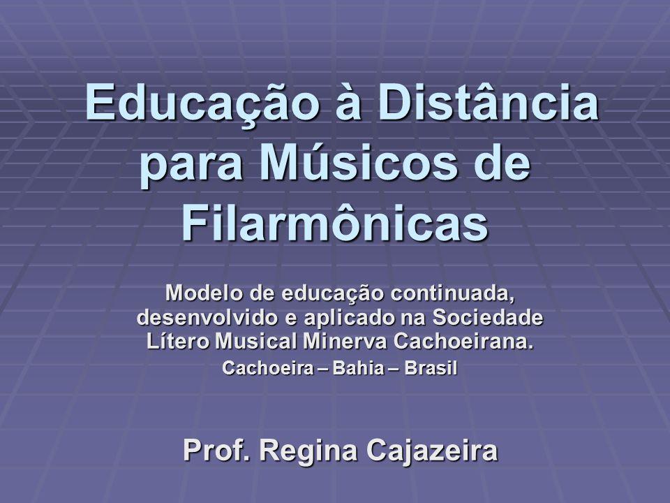 Educação à Distância para Músicos de Filarmônicas