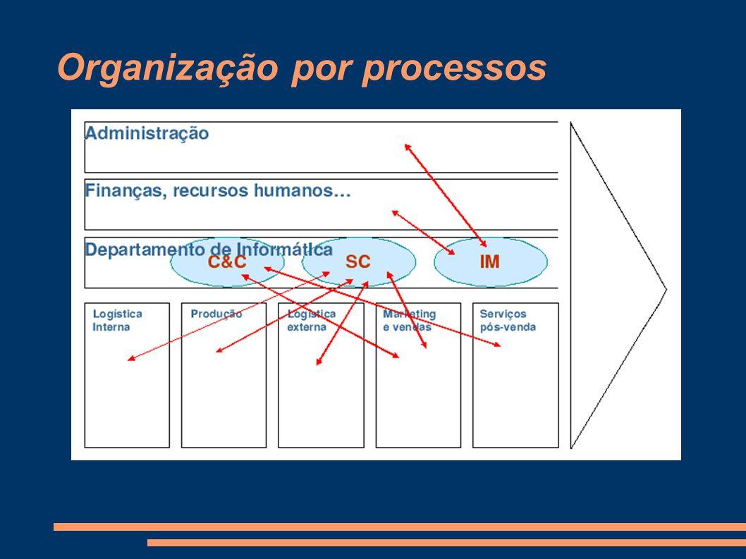 Organização por processos