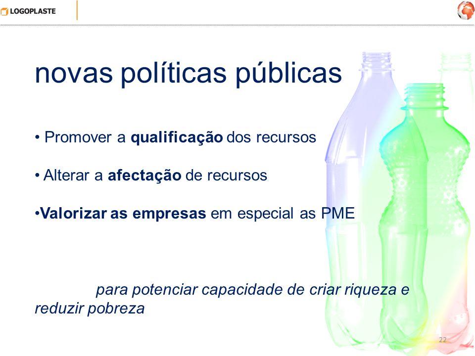 novas políticas públicas