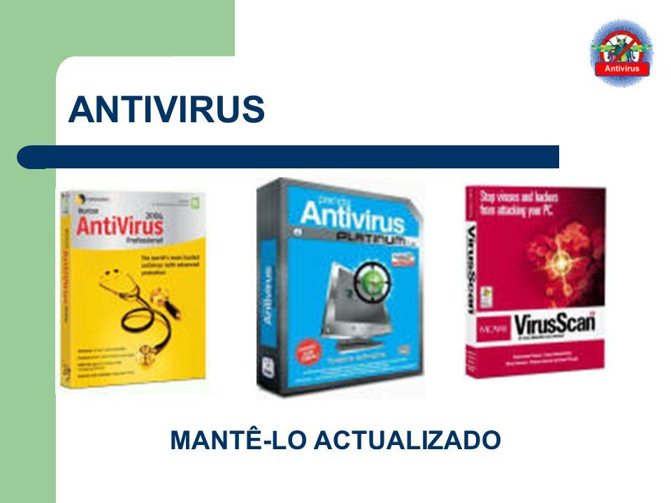 ANTIVIRUS MANTÊ-LO ACTUALIZADO