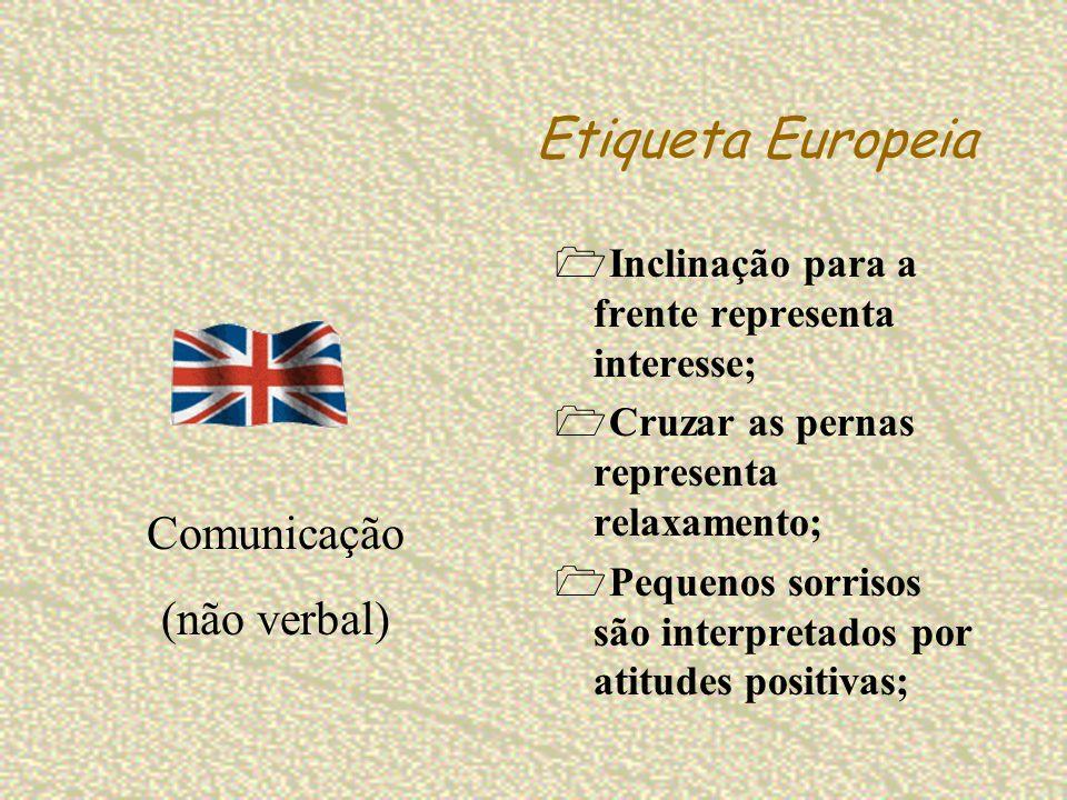Etiqueta Europeia Comunicação (não verbal)