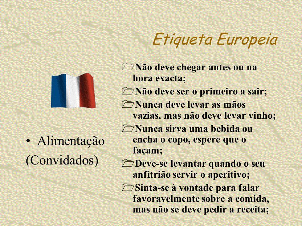Etiqueta Europeia Alimentação (Convidados)