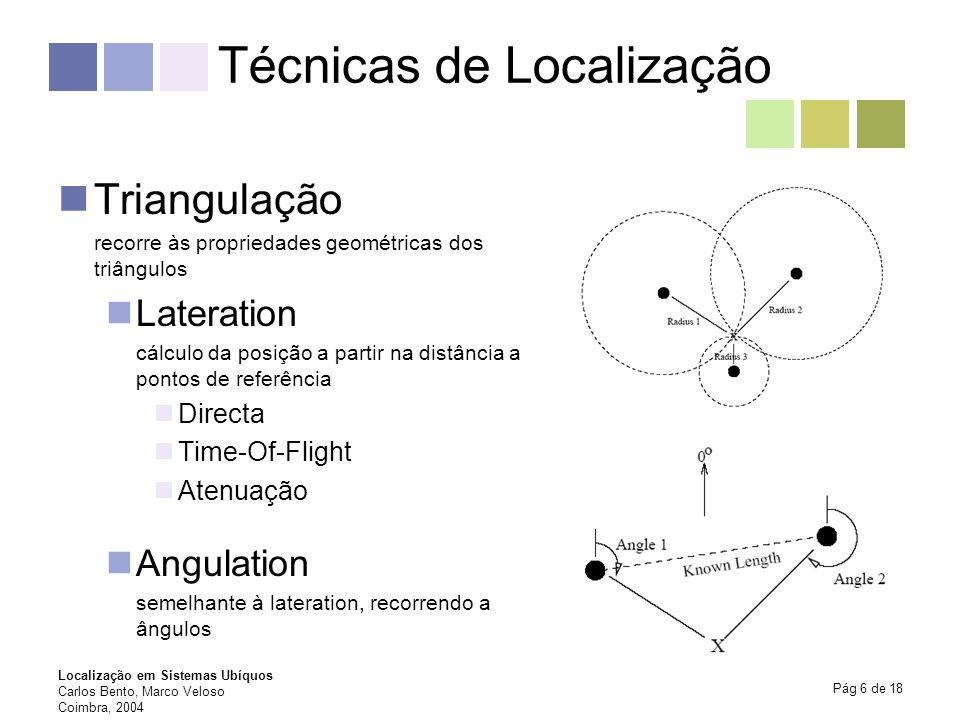 Técnicas de Localização