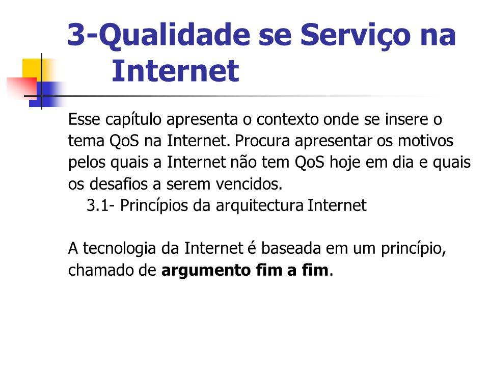 3-Qualidade se Serviço na Internet