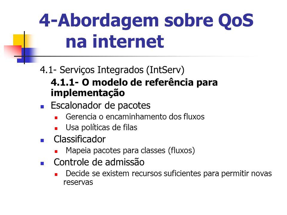 4-Abordagem sobre QoS na internet