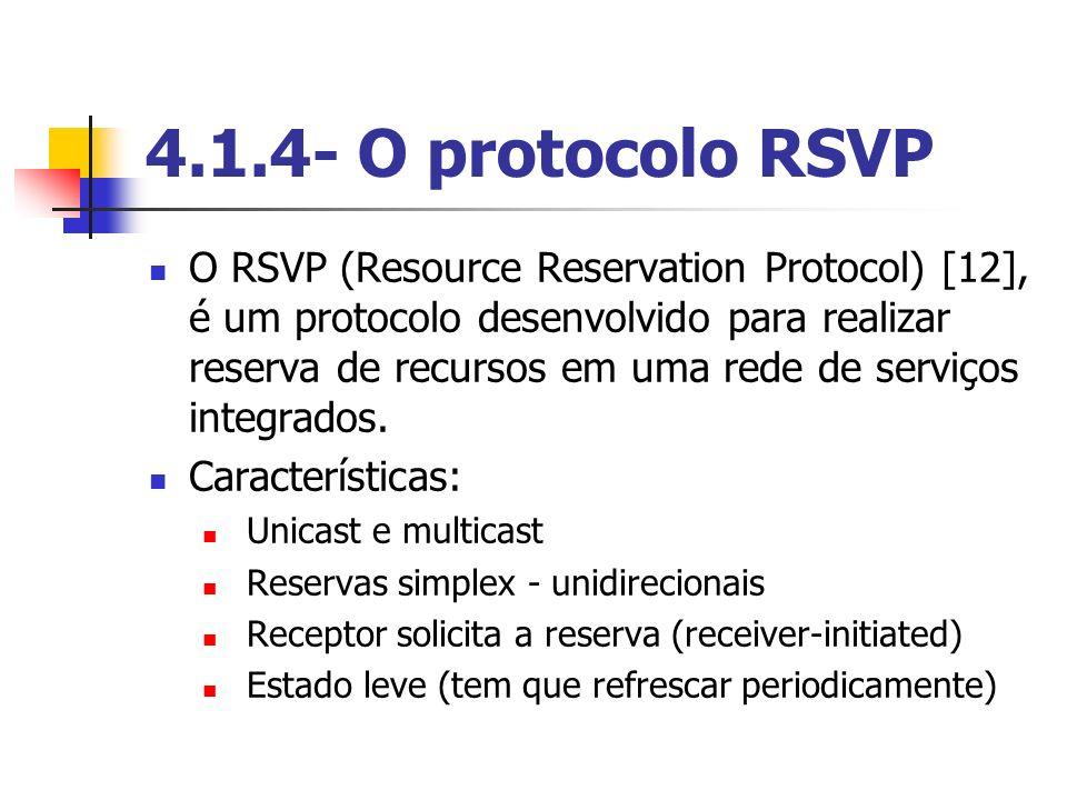 4.1.4- O protocolo RSVP