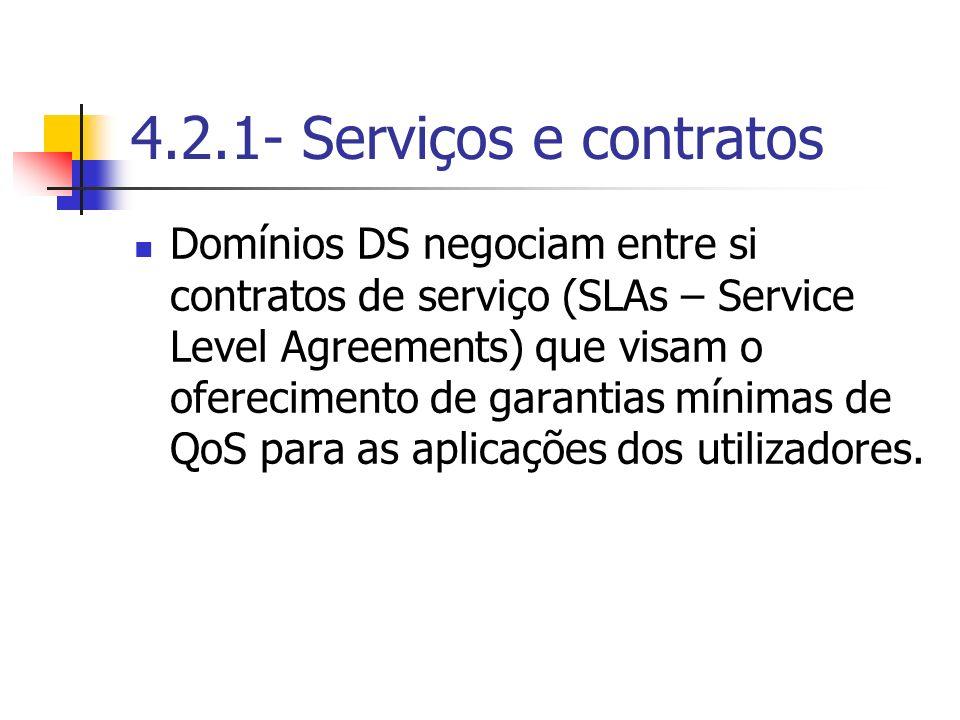 4.2.1- Serviços e contratos