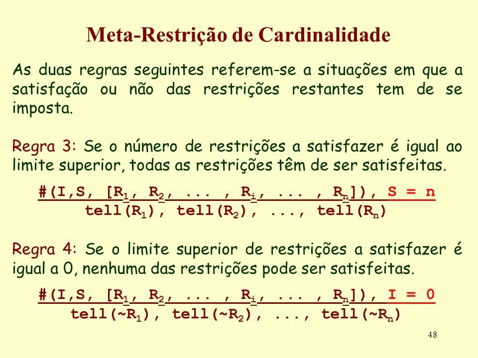 Meta-Restrição de Cardinalidade