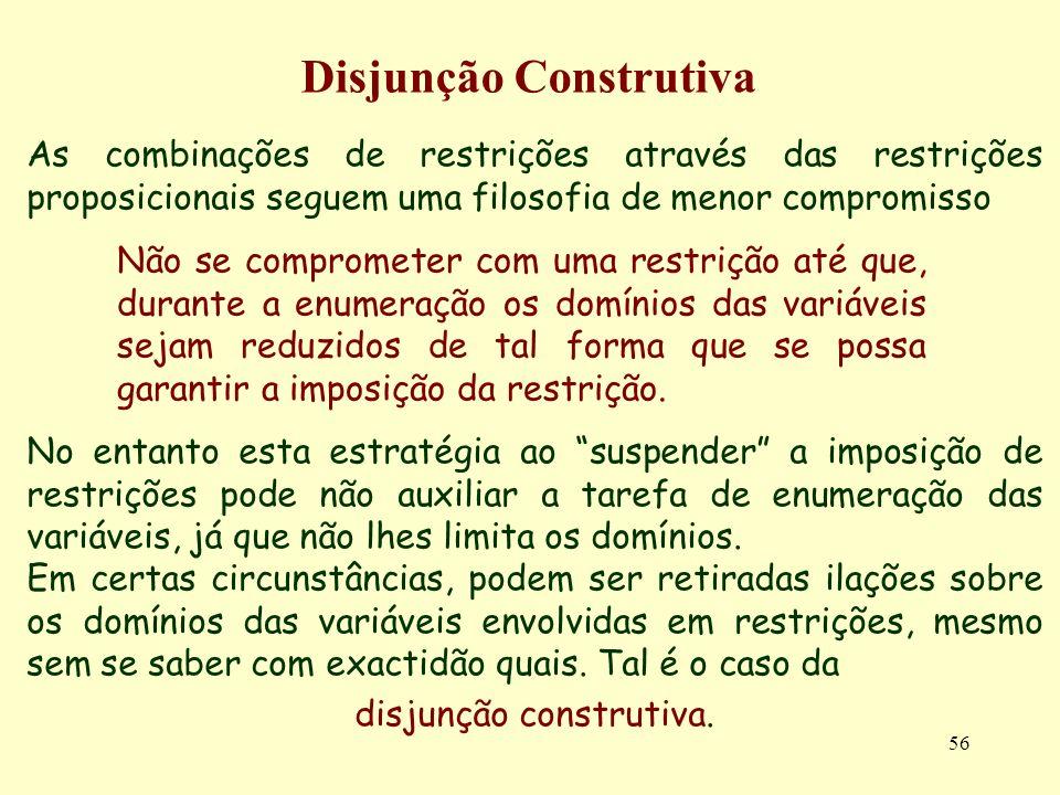 Disjunção Construtiva