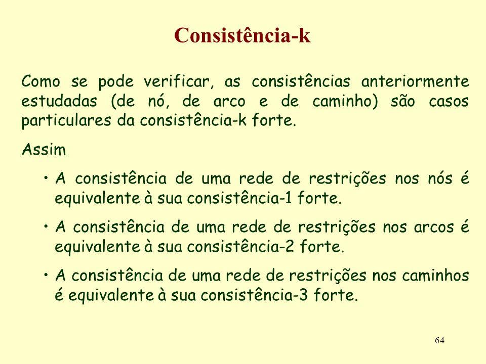 Consistência-k