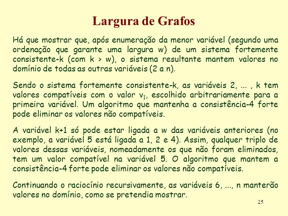Largura de Grafos