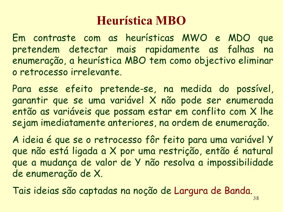 Heurística MBO
