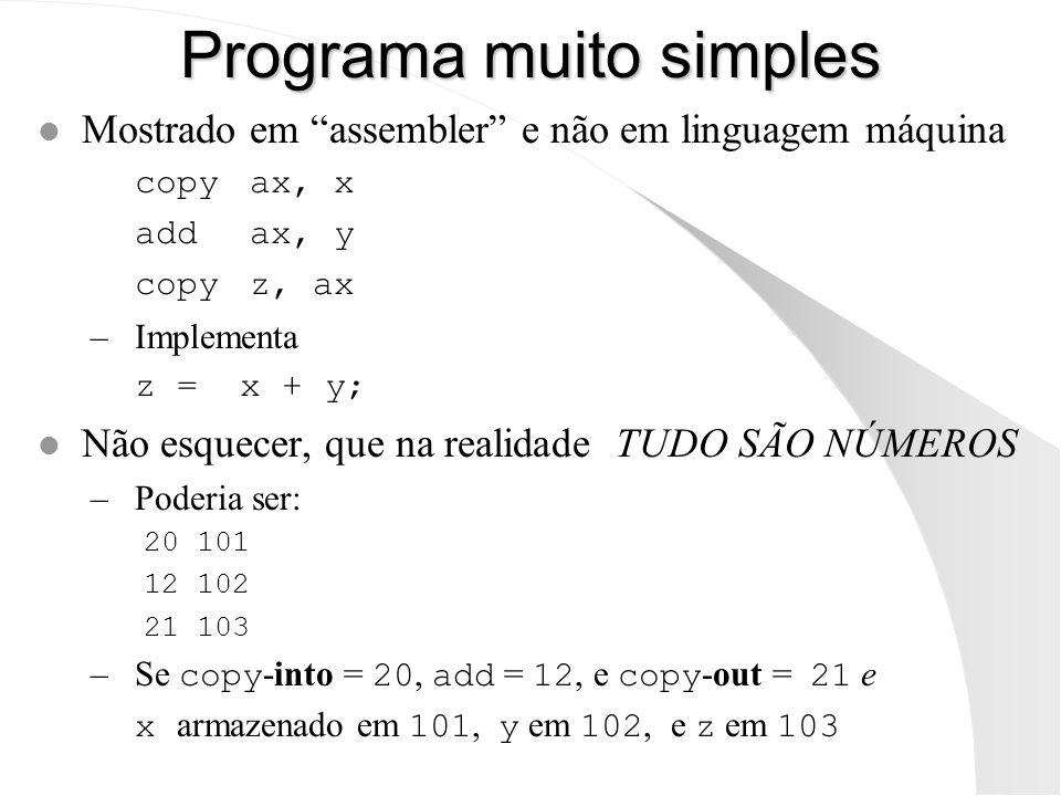 Programa muito simples