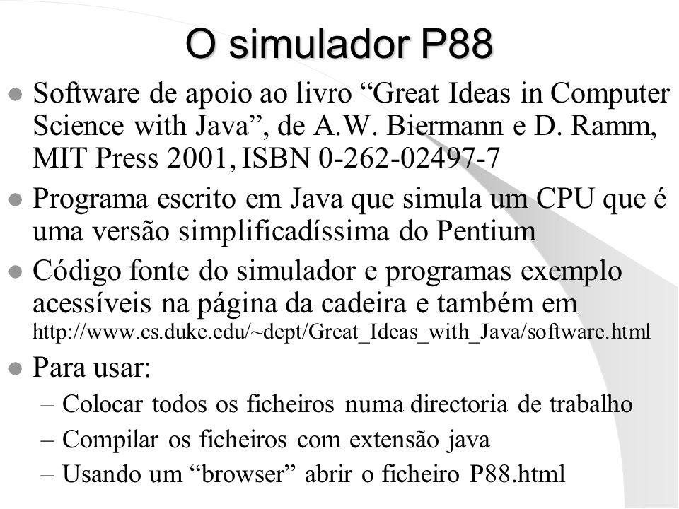 O simulador P88