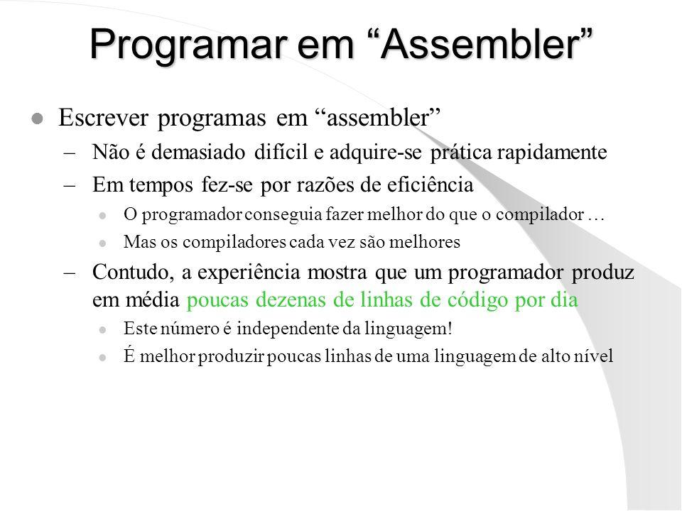 Programar em Assembler