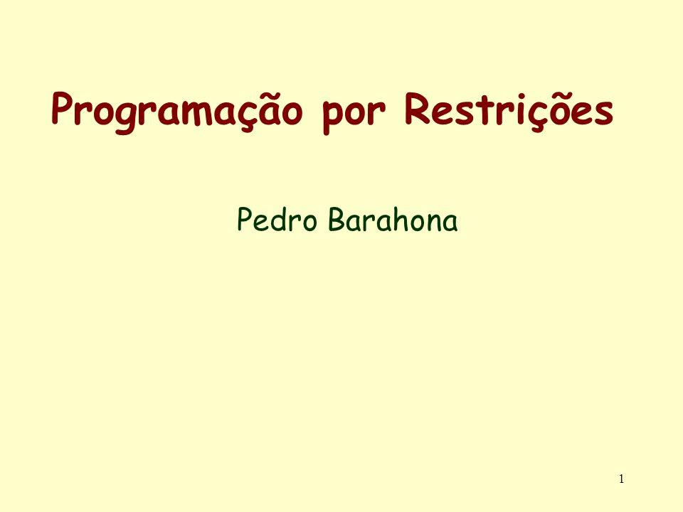 Programação por Restrições