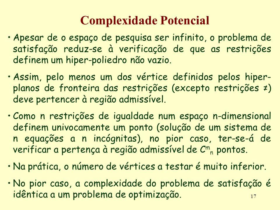 Complexidade Potencial