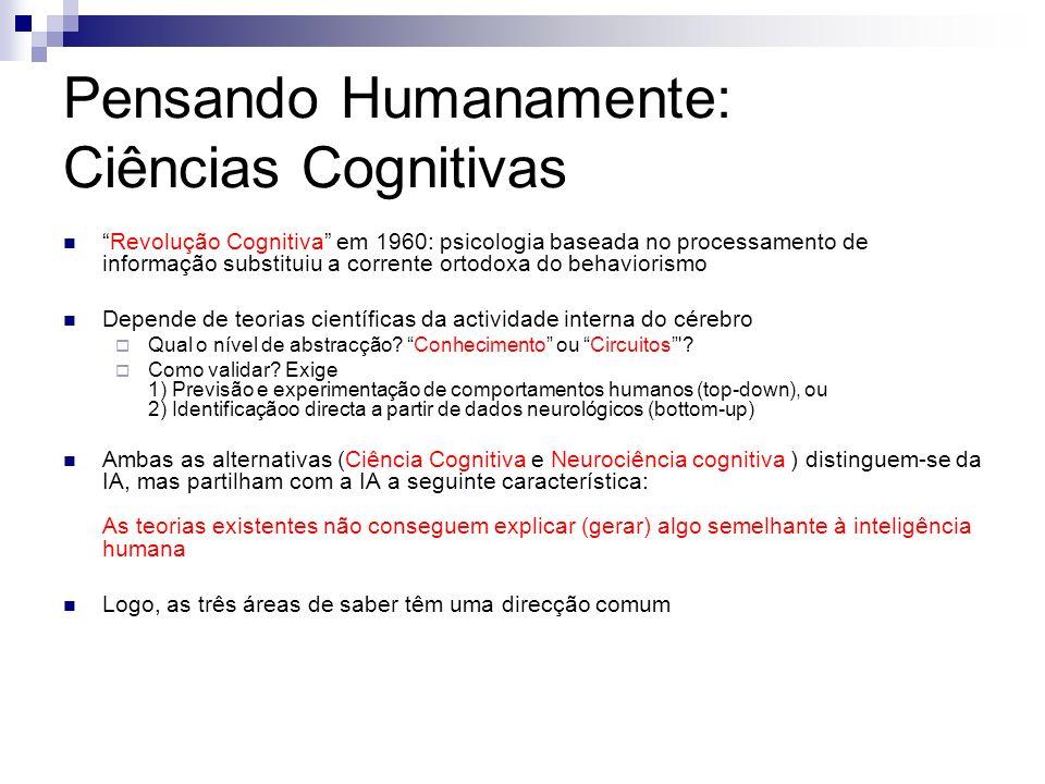 Pensando Humanamente: Ciências Cognitivas