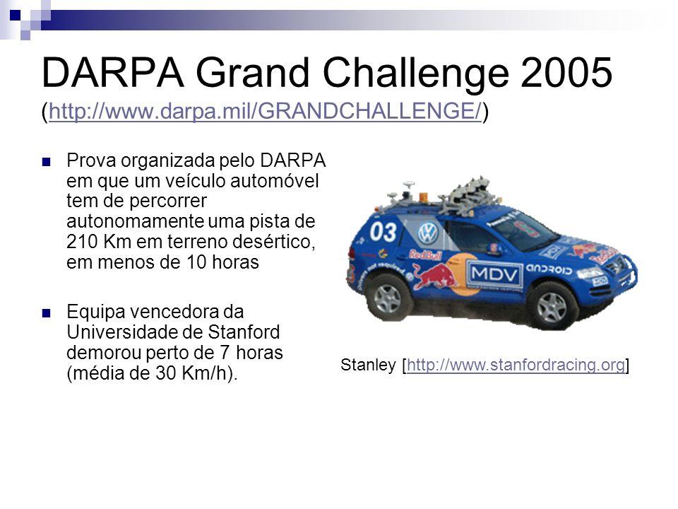 DARPA Grand Challenge 2005 (http://www.darpa.mil/GRANDCHALLENGE/)